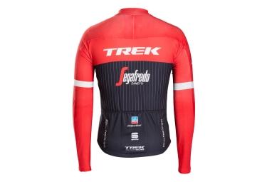maillot manches longues trek sportful trek segafredo noir rouge s
