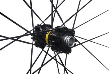Paire de Roues MAVIC 2017 Crossride Light WTS 27.5 | 15mm | 12x142mm | Corps Shimano/Sram | Quest 2.25