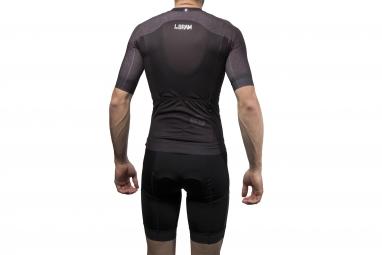 maillot manches courtes lebram izoard noir xs