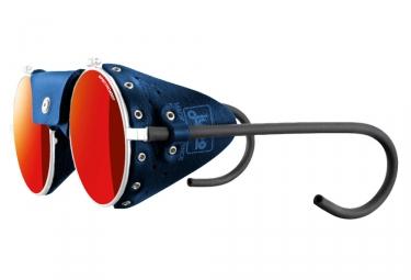 lunettes julbo vermont blanc spectron 3cf bleu rouge