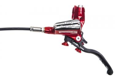 Freno delantero HOPE TECH 3 E4 Red Edición Durite Standard -Sin disco y adaptador