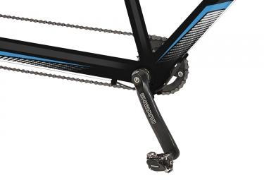 tandem gitane verso 700c shimano alivio 9v noir bleu unique 165 185 cm