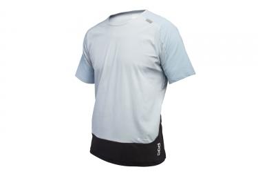 maillot manches courtes poc 2017 resistance pro xc bleu l