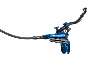 Freno trasero HOPE Tech 3 V4 Manguito Aviation Azul - Sin disco ni adaptador