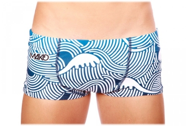 Mako Waves Swimsuit Blue