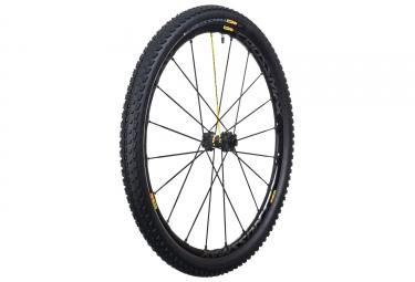 mavic 2016 roue avant crossmax sl pro wts 27 5 noir axe 15x100mm 9x100mm qr pneu crossmax pulse 2 10