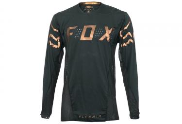 maillot manches longues fox flexair noir s