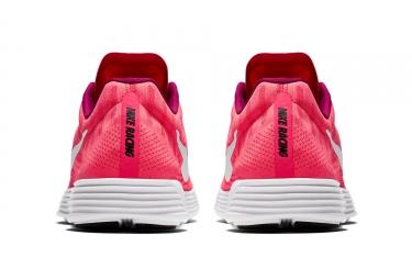 timeless design eb814 c666b Chaussures de Triathlon Femme Nike Lunaracer 4 Rose   Blanc