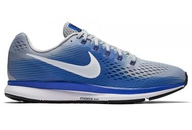 Chaussures de Running Nike Air Zoom Pegasus 34 Bleu   Gris ... f24e105f9fe30