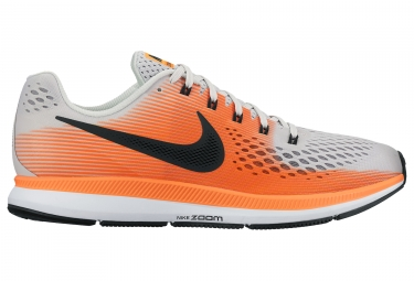 nike air zoom pegasus 34 blanc orange homme 41