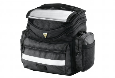 TOPEAK Handlebar Bag TOURGUIDE Black