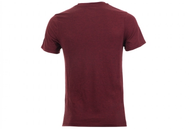 fox tee shirt wide bar tech tee rouge xl