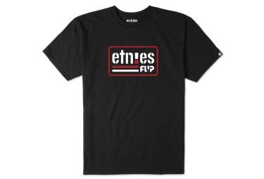 t shirt etnies flip side noir l