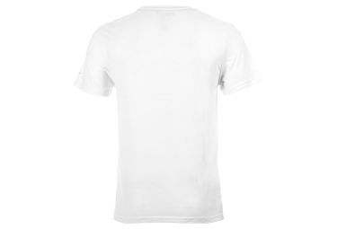 fox tee shirt tournament ss tech tee blanc s