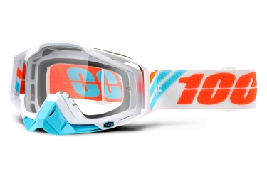 masque 100 racecraft calculus ice blanc ecran transparent