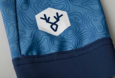 maillot manches courtes lebram izoard bleu m