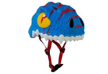 casque enfant crazy safety blue dragon 3 a 6 ans bleu unique 49 55 cm