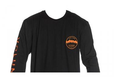 T-Shirt Manches Longues Volume Voyager Noir