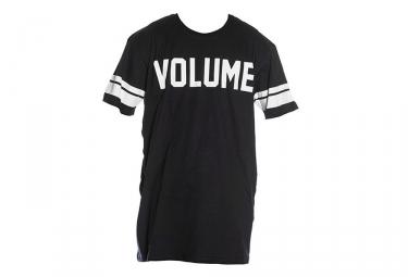 t shirt volume jersey noir m