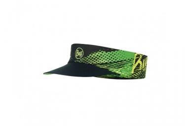 casquette visiere buff r flash logo noir vert