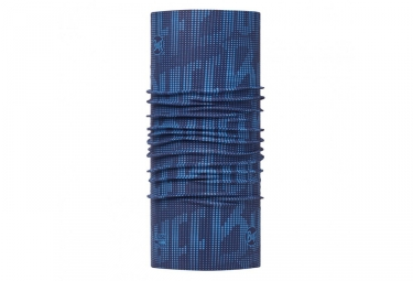 tour de cou buff high uv deep logo bleu marine