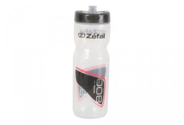bidon zefal sense m80 800ml transparent