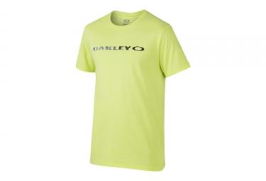 t shirt oakley o original jaune l