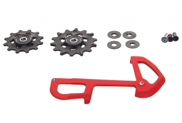 kit galets chape interieure sram x01 eagle 12v rouge
