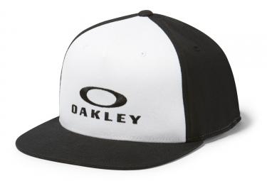 casquette flexfit oakley sliver 110 blanc noir