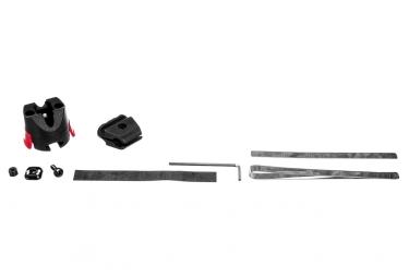adaptateur 90 multifonction pour accessoires klickfix mini noir
