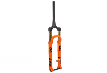fourche fox racing shox 32 float sc factory fit4 27 5 kabolt 15mm 2017 orange 100