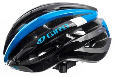 Casque Giro Foray Noir Bleu brillant