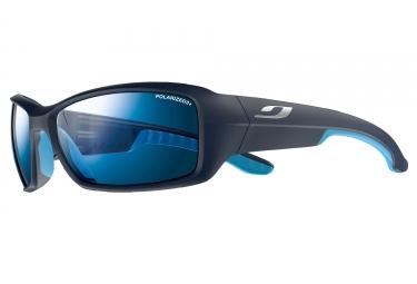 lunettes julbo run polarized 3 noir bleu bleu