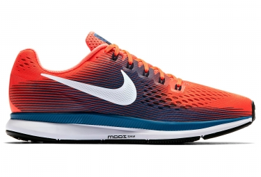 nike air zoom pegasus 34 orange bleu homme 42
