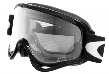 Masque oakley o frame mx jet black transparent 01 615