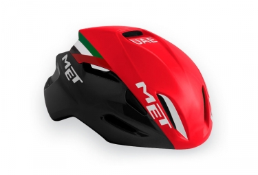 casque met manta team uae rouge noir l 59 62 cm