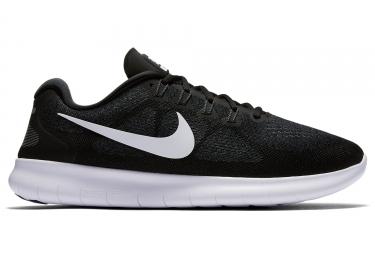 Nike free rn 2017 homme noir blanc 41