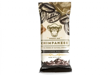 CHIMPANZEE Energy Bar 100% Natural Chocolat Expresso 55g VEGAN