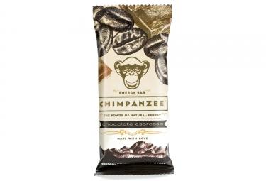 CHIMPANZEE Barre Energétique 100% naturelle Chocolat Expresso 55g VÉGÉTALIEN