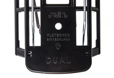 porte bagage arriere klickfix gta pletscher dual 26 27 5 noir