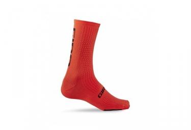 Calcetines Giro HRC TEAM - Orange / Noir