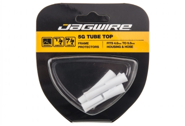Tube de protection de gaine jagwire 5g top tube blanc 4x