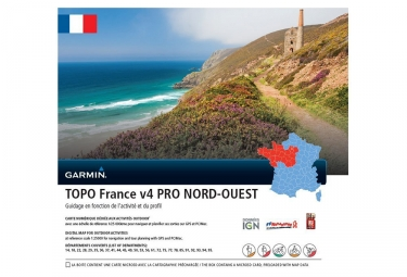 Garmin topo france v4 pro nord ouest micro sd