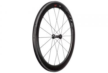roue avant zipp 404 firecrest 77 v3 carbone a pneu stickers noir