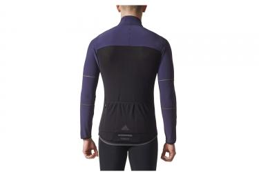 Veste Thermique adidas cycling Climaheat Bleu Noir