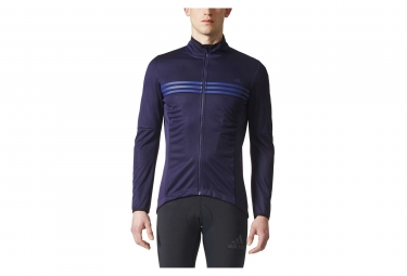 veste thermique adidas cycling warmtefront bleu xl
