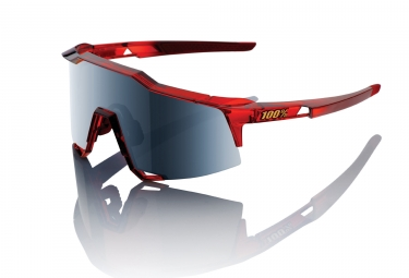 Gafas 100% SpeedCraft LL red black Iridium / Miroir