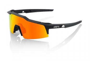 100 lunettes speedcraft sl soft tact noir hiper rouge miroir