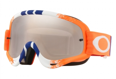 masque oakley o frame mx orange bleu black iridium oo7029 42