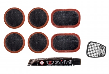 kit de reparation zefal tubeless 6 rustines
